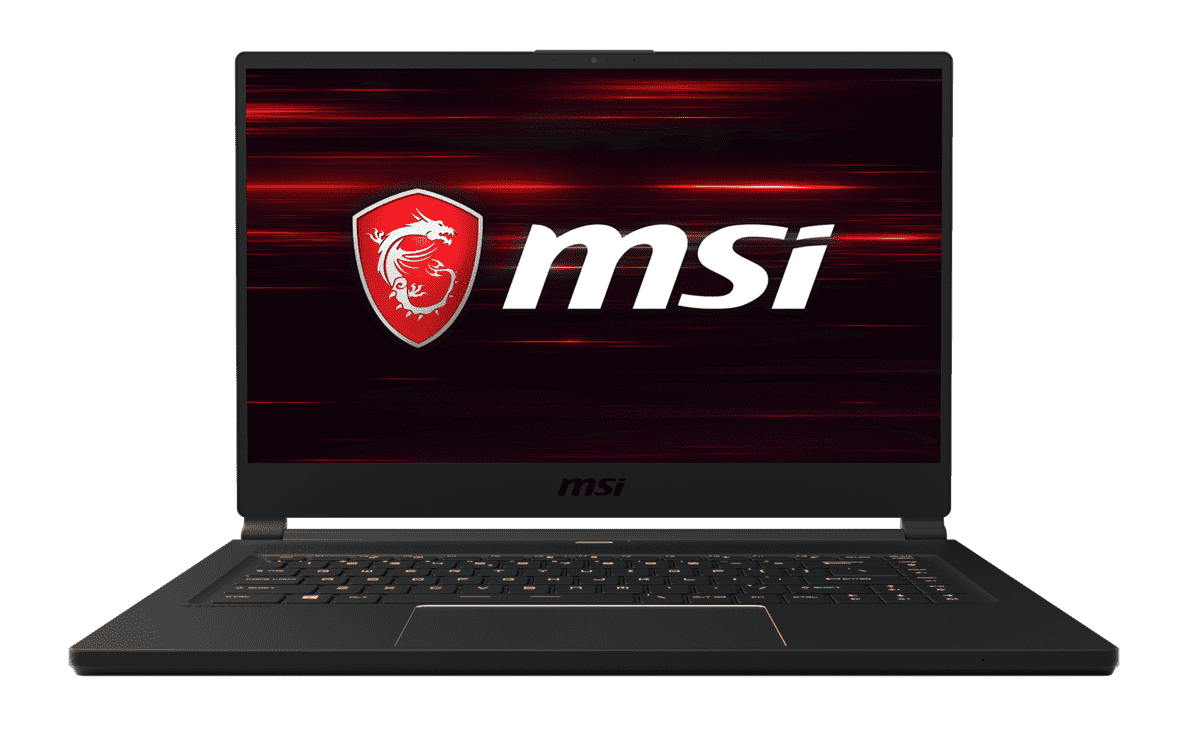 MSI  GS65 8SF-057 Gaming Notebook mit Core™ i7, 16 GB RAM, 512 GB & GeForce RTX 2070 in Schwarz | 04719072614294