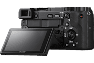 SONY Alpha 6400 Kit (ILCE6400B.CEC) Systemkamera 24.2 Megapixel mit Objektiv 16 - 50 mm , 7.5 cm Display   Touchscreen, WLAN