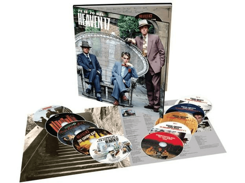 Heaven 17 - Play To Win: The Virgin Years (10CD-Book Set) [CD]