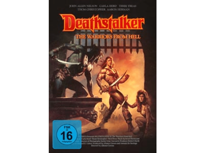 Deathstalker-The Warriors From Hell [DVD]