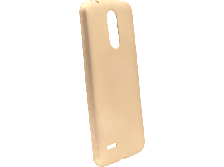 AGM 27706 Backcover LG K9 Thermoplastisches Polyurethan Gold