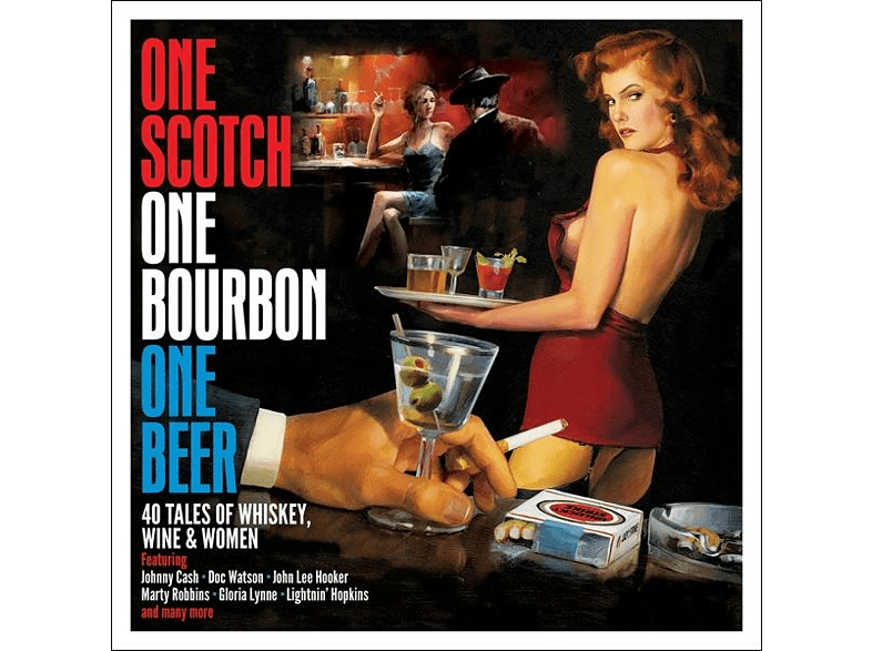 VARIOUS - One Scotch,One Bourbon,One Beer [CD]