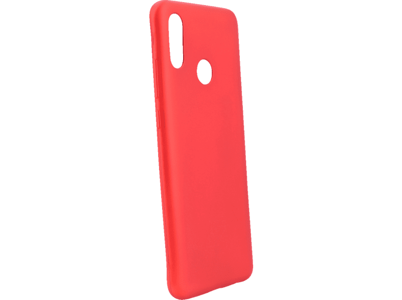 AGM 27653 Soft , Backcover, Huawei, P Smart 2019, Thermoplastisches Polyurethan, Rot