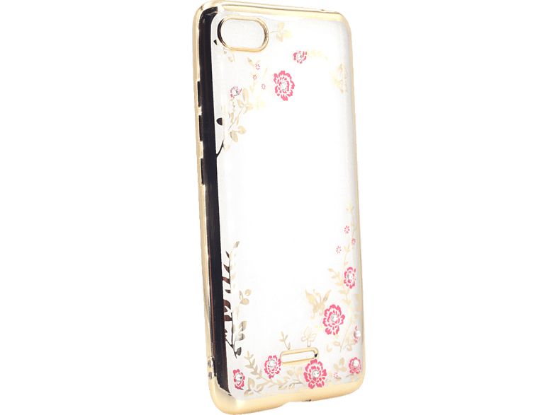 AGM 27859 Feeling Backcover Xiaomi Redmi 6A Thermoplastisches Polyurethan, Kunststoff Gold