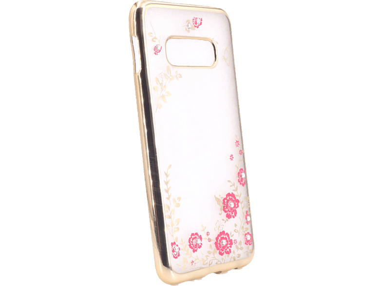 AGM 27726 Feeling , Backcover, Samsung, Galaxy S10e, Thermoplastisches Polyurethan, Kunststoff, Gold