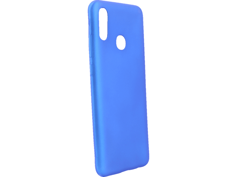 AGM 27653 Soft , Backcover, Huawei, P Smart 2019, Thermoplastisches Polyurethan, Blau