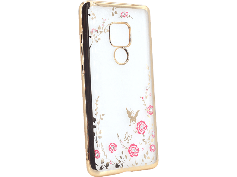 AGM 27762 Feeling , Backcover, Huawei, Mate 20, Thermoplastisches Polyurethan, Kunststoff, Gold