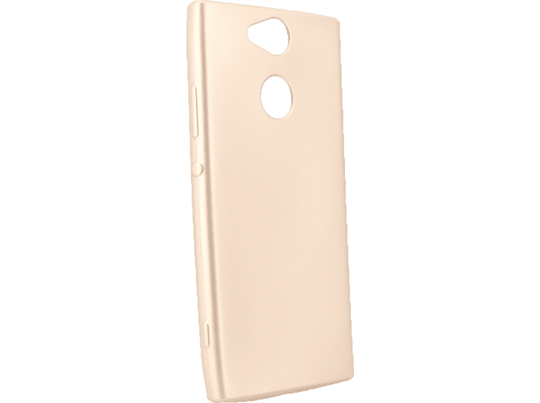 AGM 27784 Soft Backcover Sony Xperia XA2 Thermoplastisches Polyurethan Gold