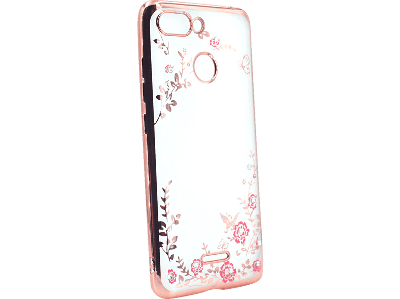 AGM 27833 Feeling Backcover Xiaomi Redmi 6 Thermoplastisches Polyurethan, Kunststoff Rose Gold