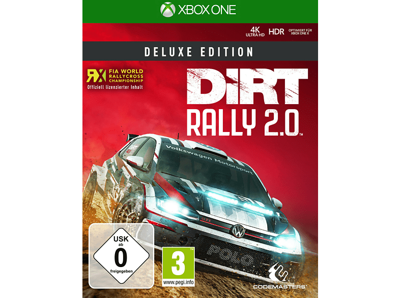 XBO DIRT RALLY 2.0 (DELUXE EDITION) [Xbox One]