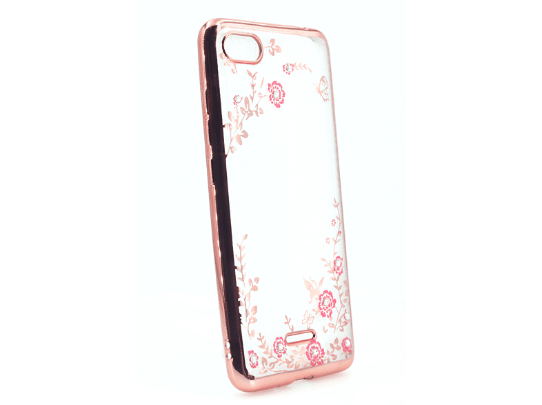 AGM 27858 Feeling Backcover Xiaomi Redmi 6A Thermoplastisches Polyurethan, Kunststoff Rose Gold