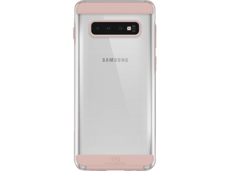 WHITE DIAMONDS Innocence Clear , Backcover, Samsung, Galaxy S10, Polycarbonat, Rosegold