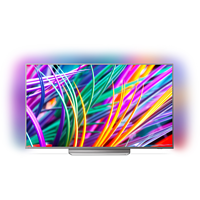 PHILIPS 49PUS8303 LED TV (Flat, 49 Zoll/123 cm, UHD 4K, SMART TV, Ambilight, Android TV)