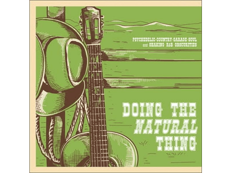 VARIOUS - DOING THE NATURAL THING [Vinyl]