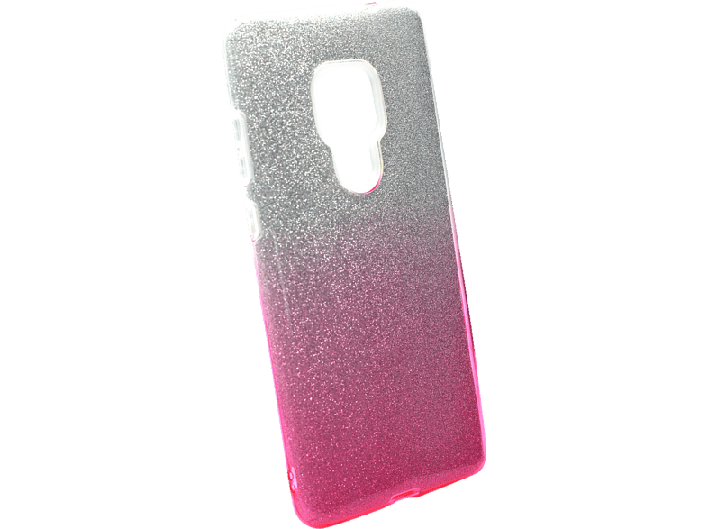 AGM 27764 Slope Backcover Huawei Mate 20 Polycarbonat, Thermoplastisches Polyurethan Pink/Silber