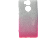 AGM 27777 Slope Backcover Sony Xperia XA2 Polycarbonat, Thermoplastisches Polyurethan Pink/Silber