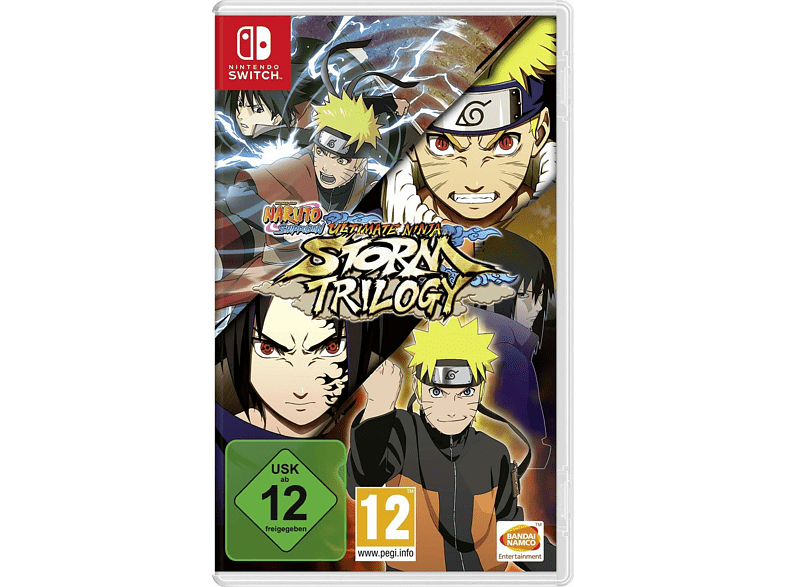 Switch Naruto un Storm Trilogy (Code in a Box) [Nintendo Switch]
