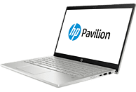 HP Pavilion Notebook 14-ce0304ng, Notebook mit 14 Zoll Display, Core™ i7 Prozessor, 16 GB RAM, 128 GB SSD, 1 TB HDD, GeForce® MX13, Silber