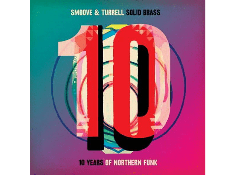 Smoove & Turrell - Solid Brass: Ten Years Of Northern Funk (2LP) [Vinyl]