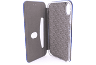 AGM 27538 Smart , Bookcover, Apple, iPhone XR, Obermaterial Kunstleder, Stoff, Thermoplastisches Polyurethan, Marineblau