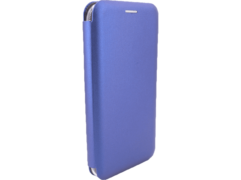 AGM 27538 Smart Bookcover Apple iPhone XR Obermaterial Kunstleder, Stoff, Thermoplastisches Polyurethan Marineblau