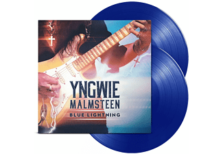 Yngwie Malmsteen - BLUE LIGHTNING (LTD.BLUE VINYL GATEFOLD+MP3) - (LP + Download)