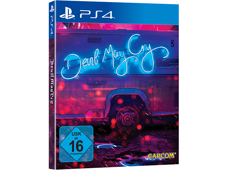 Devil May Cry 5 Deluxe Edition SteelBook® (Limited Edition) [PlayStation 4]