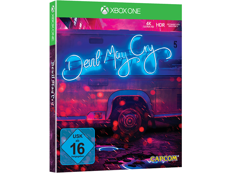 Devil May Cry 5 Deluxe Edition SteelBook® (Limited Edition) [Xbox One]