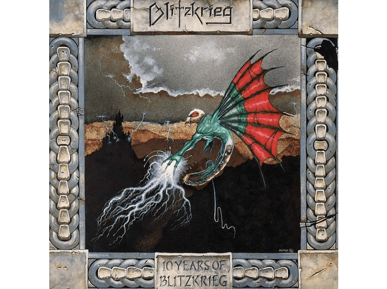 Blitzkrieg (uk) - Ten Years Of Blitzkrieg (Picture-Vinyl) [Vinyl]