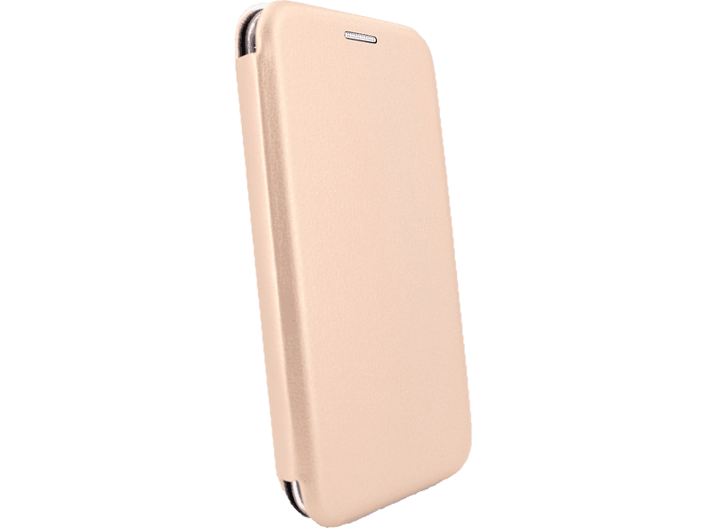 AGM 27688 Smart Bookcover Apple iPhone X, iPhone XS Kunstleder, Stoff, Thermoplastisches Polyurethan Gold