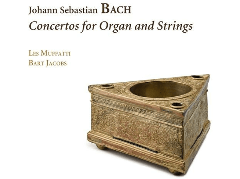 Les Muffatti - Bart Jacobs - Concertos For Organ And Strings [CD]