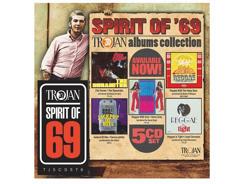Llyod Charmers, Owen Gray, The Hippy Boys, The Dynamites - Spirit of 69:The Trojan Albums Collection [CD]