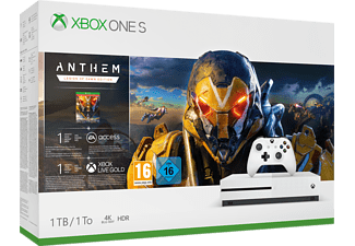 MICROSOFT Xbox One S 1 TB + Anthem