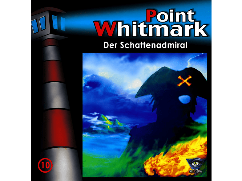 Point Whitmark - 10/Der Schattenadmiral - (CD)