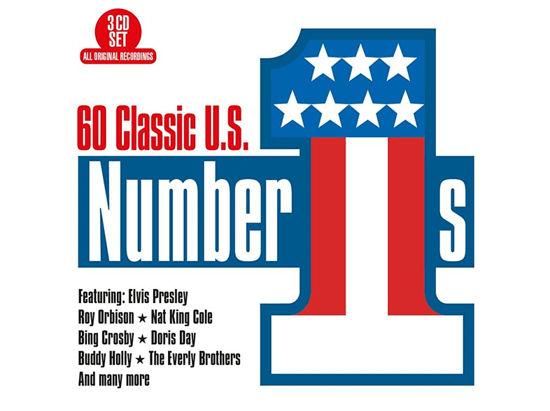 VARIOUS - 60 Classic US Number 1s [CD]