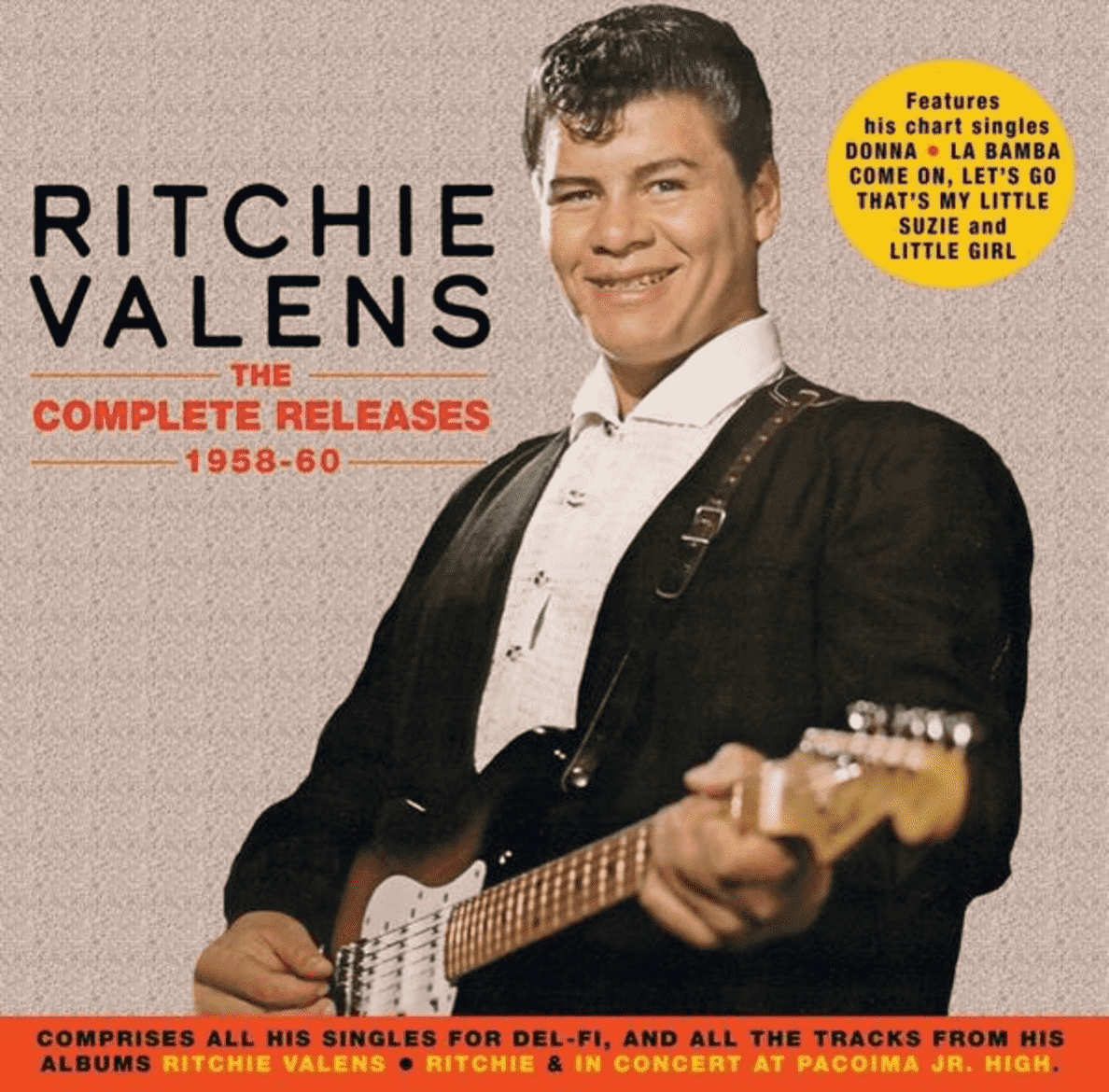 The Complete Releases 1958-60 Ritchie Valens auf CD