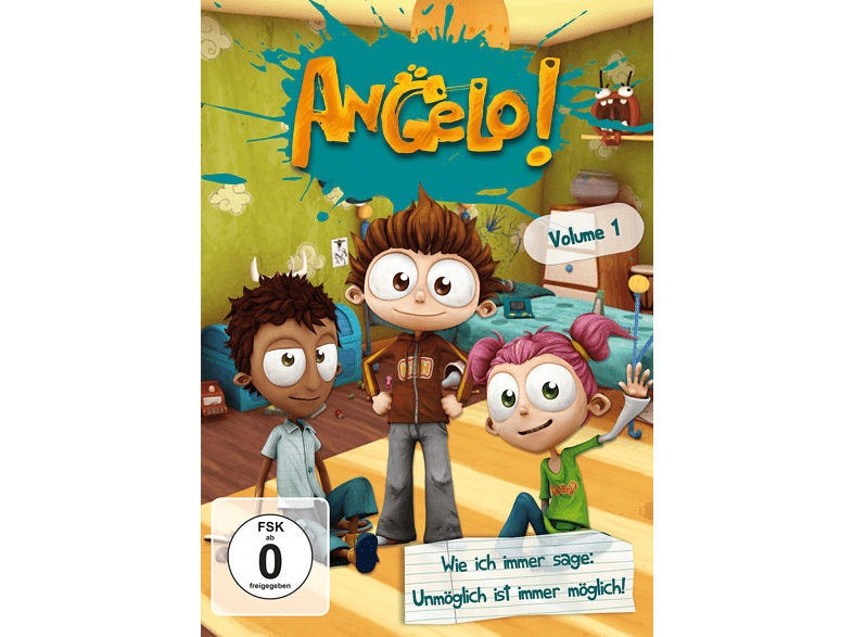 Angelo! - Volume 1 [DVD]