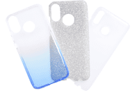 V-DESIGN VSP 126 , Backcover, Huawei, P Smart 2019, Plastik + Thermoplastisches Polyurethan, Blau