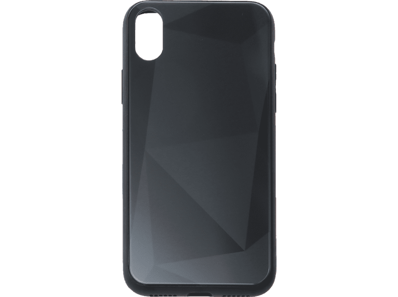 V-DESIGN VGL 098 Backcover Apple iPhone XS, iPhone X Glas Schwarz