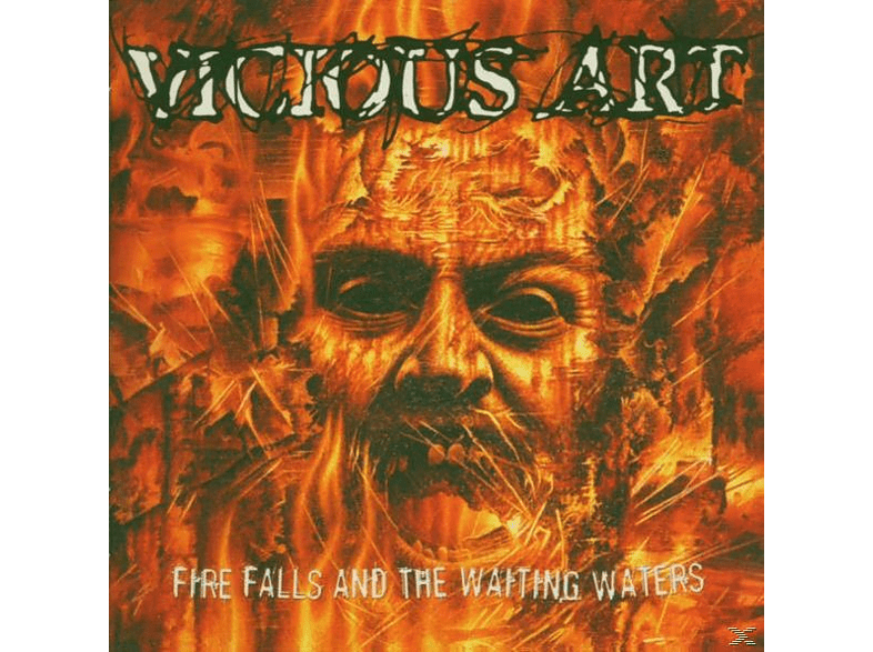 Vicious Art - FIRE FALLS AND THE WAITING WATERS [CD]