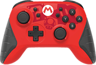 HORI Wireless Switch Controller- Mario Controller, Rot/Schwarz