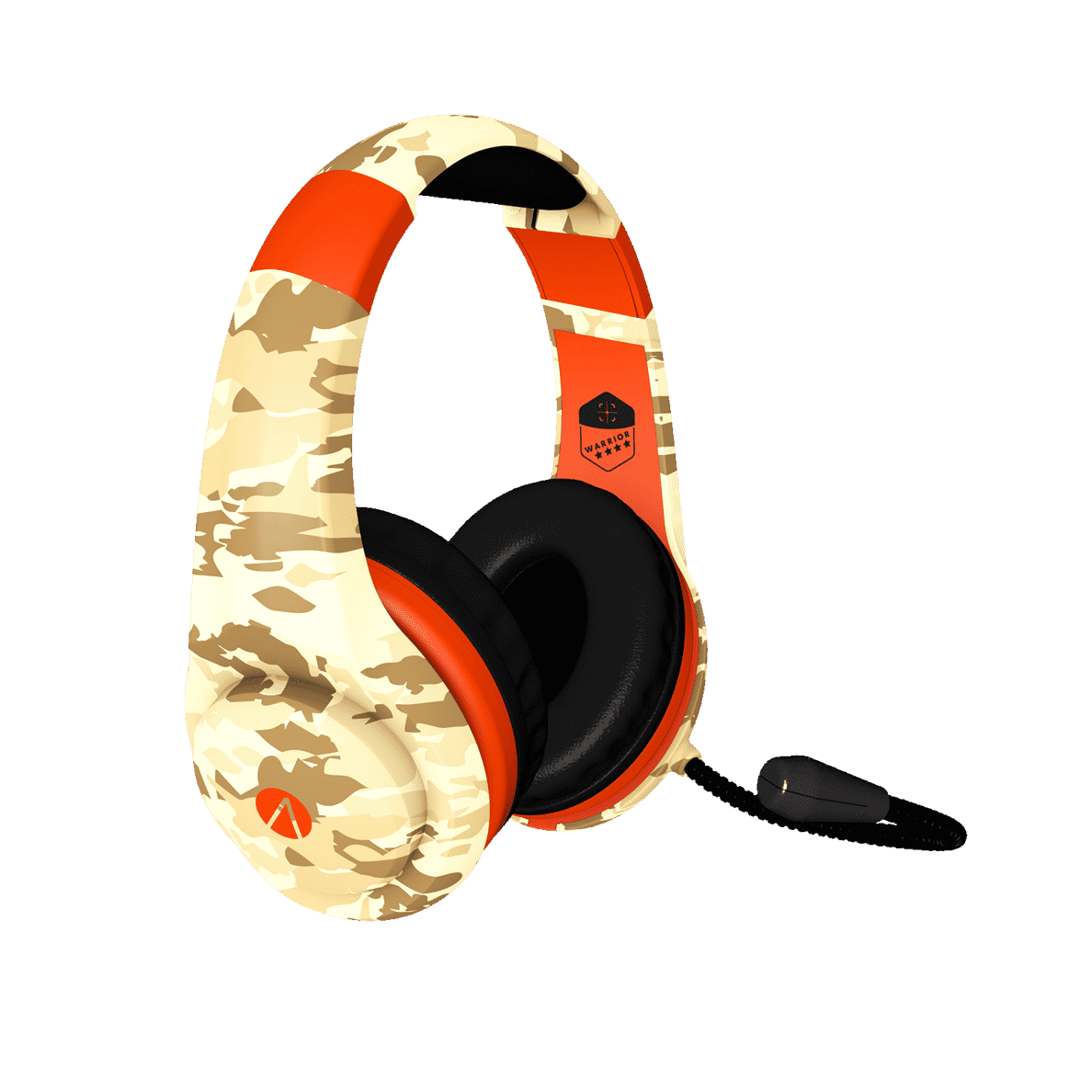 STEALTH Multi Format Stereo Headset Warrior Camo Gaming Camouflage