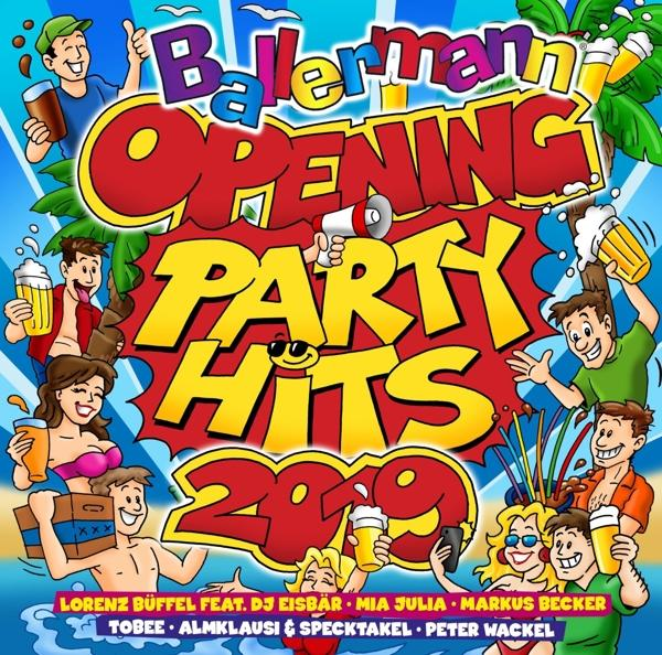 VARIOUS - Ballermann Opening Party Hits 2019 [CD]