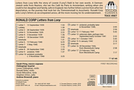 Sarah Pring - Chilingirian Quartet - Letters from Lony [CD]