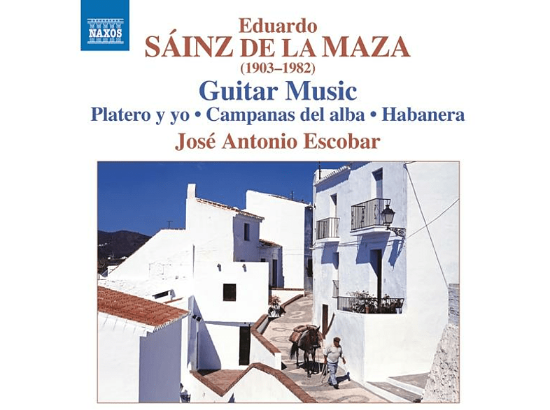 Jose Antonio Escobar - Gitarrenmusik [CD]