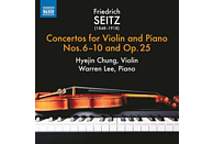 Chung,Hyejin/Lee,Warren - Concertos for Violin and Piano [CD]