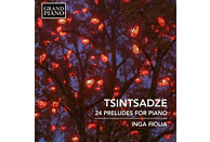Fiolia Inga - Tsintsadze: 24 Preludes for Piano [CD]