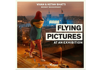 Flying Steps, Ketan Bhatti, Vivan Bhatti - Flying Pictures at an Exhibition - (Vinyl)