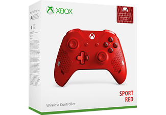 MICROSOFT Xbox Wireless Controller Sport Red SE, Controller, Rot