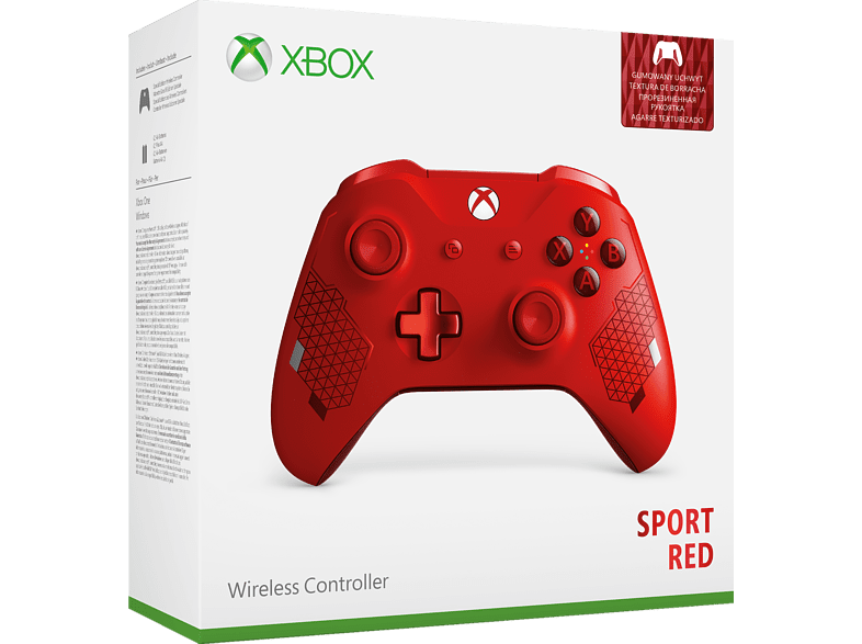 MICROSOFT Xbox Wireless Controller Sport Red SE , Controller, Rot